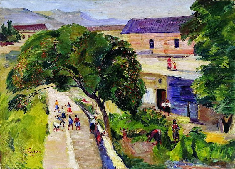 Martiros Saryan - July, 1937