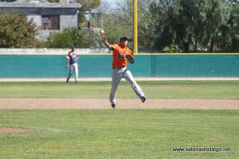 César González de Yaquis en el beisbol municipal
