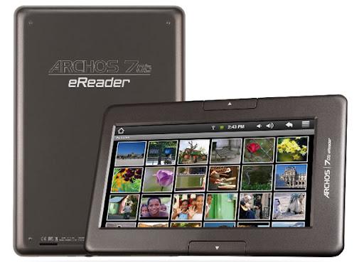 ebook-mejores-lectores-electronicos-Archos-70B-eReader-4GB