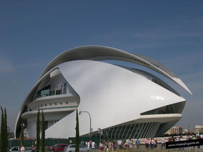 Foto del Palau de les Arts Reina Sofía