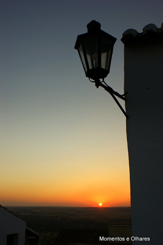 Pôr do Sol em Monsaraz, Alentejo