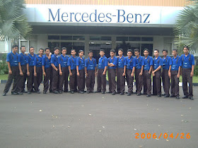 siswa automotive mechatronic training AMT batch 30