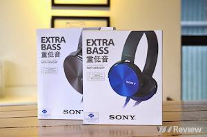 Giới thiệu 2 tại nghe Sony MDR-XB450 và MDR-XB950