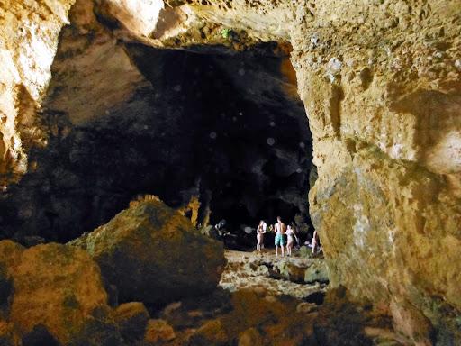 Senderismo cova tallada
