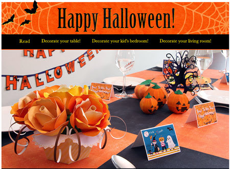 2014 halloween papercrafts canon creative park. Black Bedroom Furniture Sets. Home Design Ideas