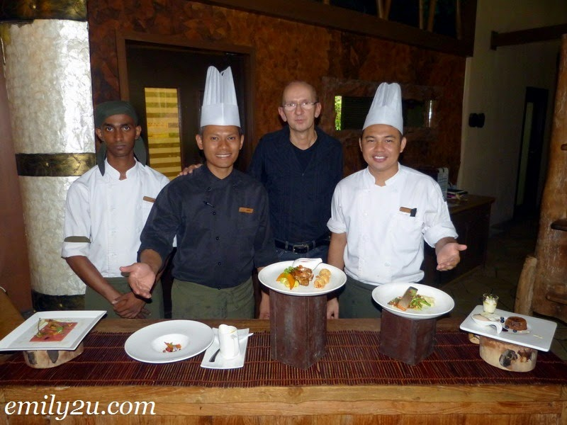 Christmas Fine Dining at The Banjaran
