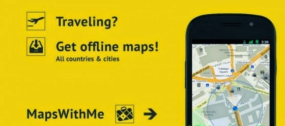 MAPS.ME – world offline map v3.0.2 Apk