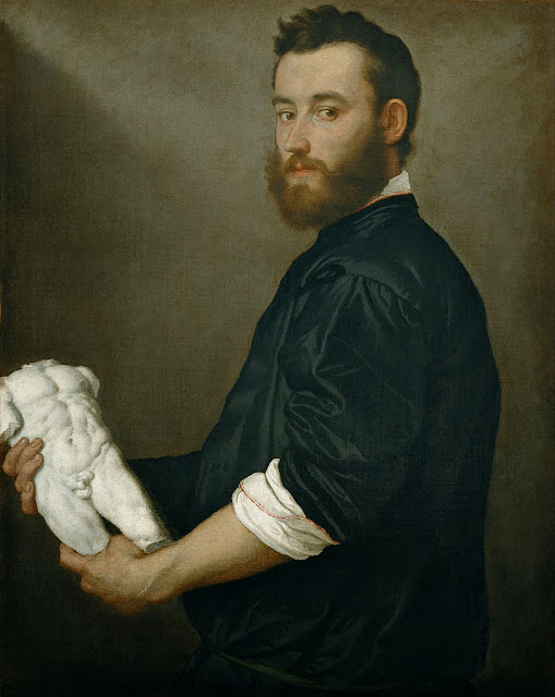 Giovanni Battista Moroni - The Sculptor Alessandro Vittoria - Google Art Project