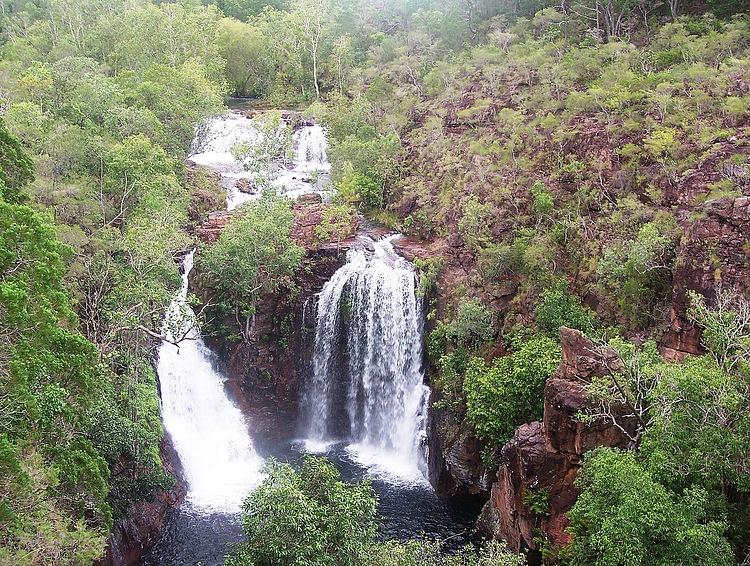 Водопады в Национальном парке Какаду