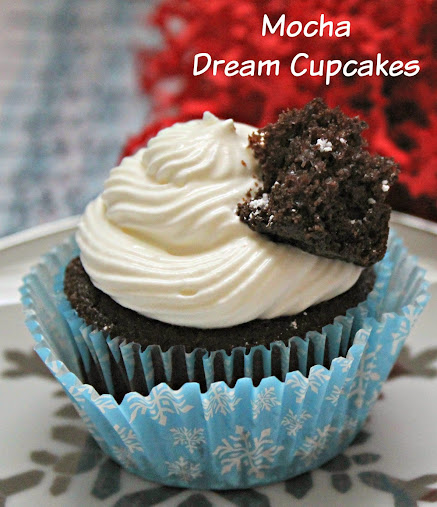 Mocha Dream Cupcakes #CookingUpGood