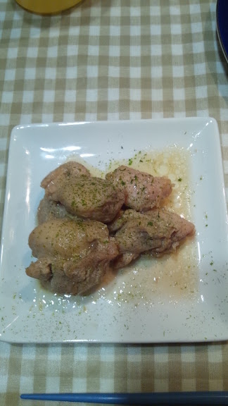 鶏肉のしょうゆマヨ焼き