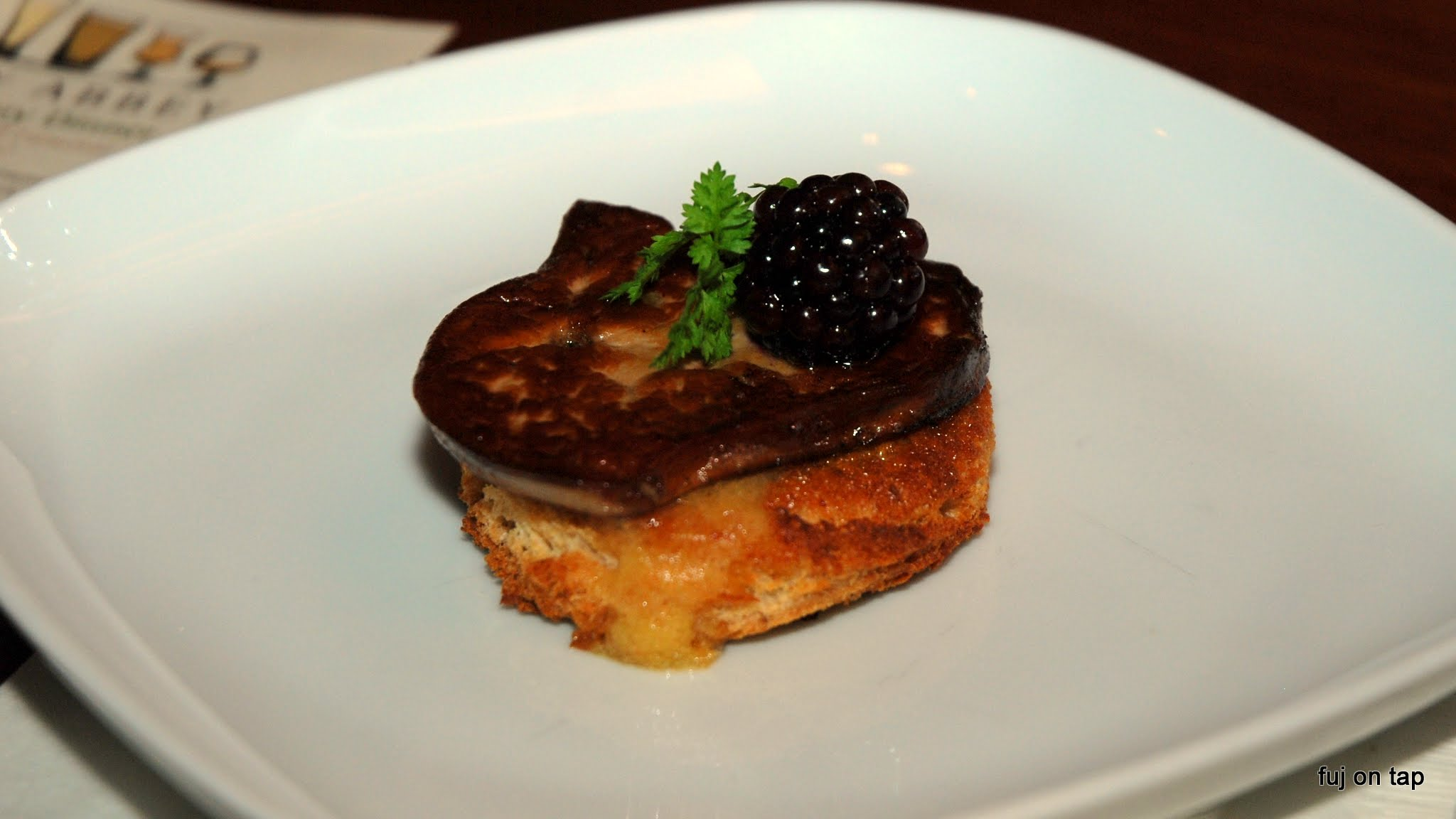 Fois Gras at Armsby Abbey