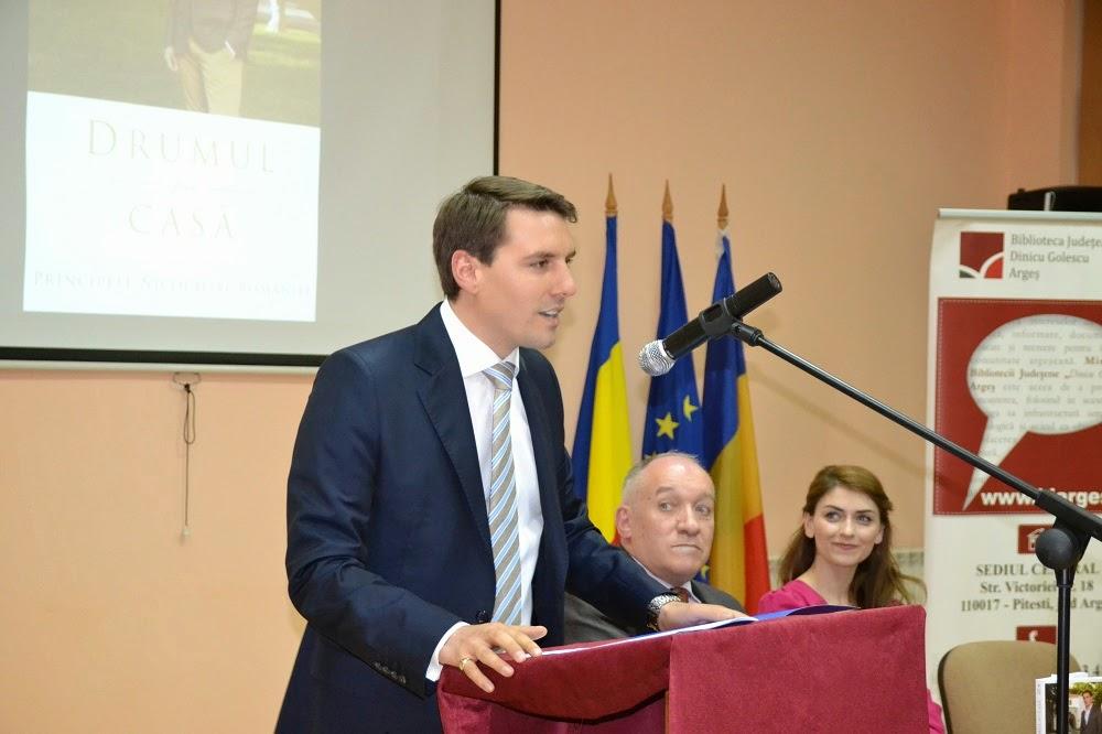 Principele Nicolae în vizită la Pitești, 14 mai 2014