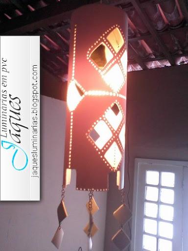 luminária- em-pvc-losangos