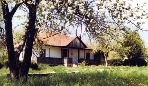Casa de Enescu en Liveni