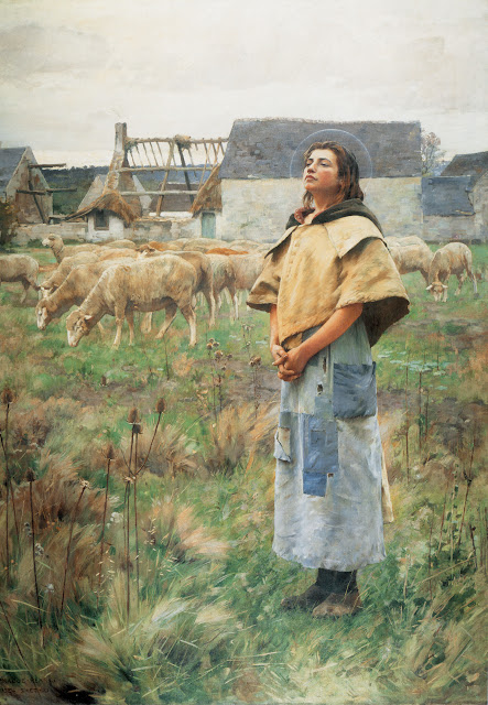 Charles Sprague Pearce – Sainte-Geneviève (c. 1887)