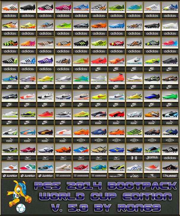 Bootpack V5.0 World Cup Edition - PES 2014
