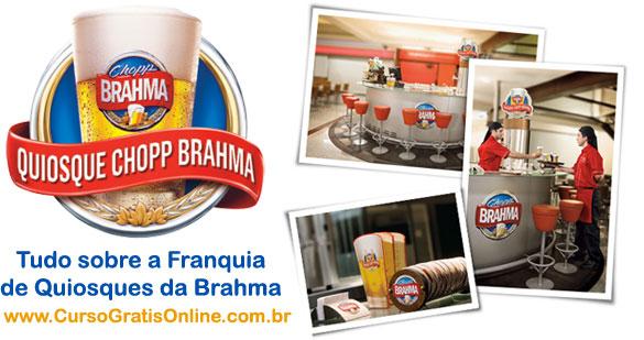 Franquia Quiosque Brahma