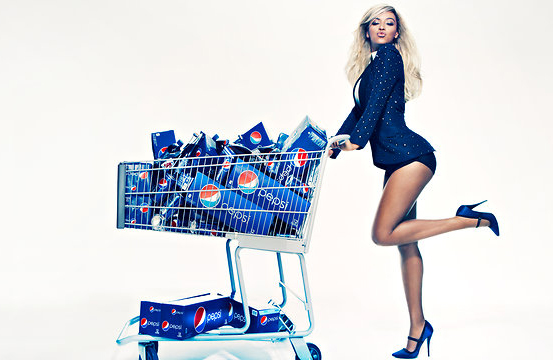 Pepsi Puts Beyoncé Face On A Can