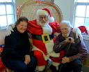 You're never too old to visit with Santa