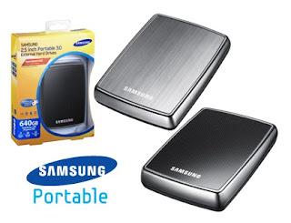 hard disk eksternal samsung HX-MTA64DA 640 GB