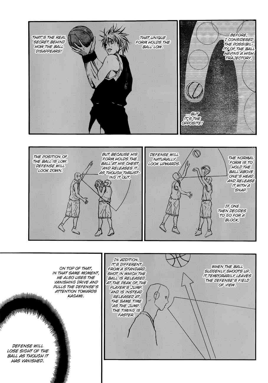 Kuroko no Basket Manga Chapter 191 - Image 11