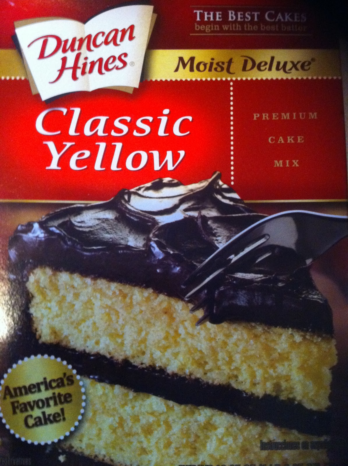 Mini Yellow Cake Recipe