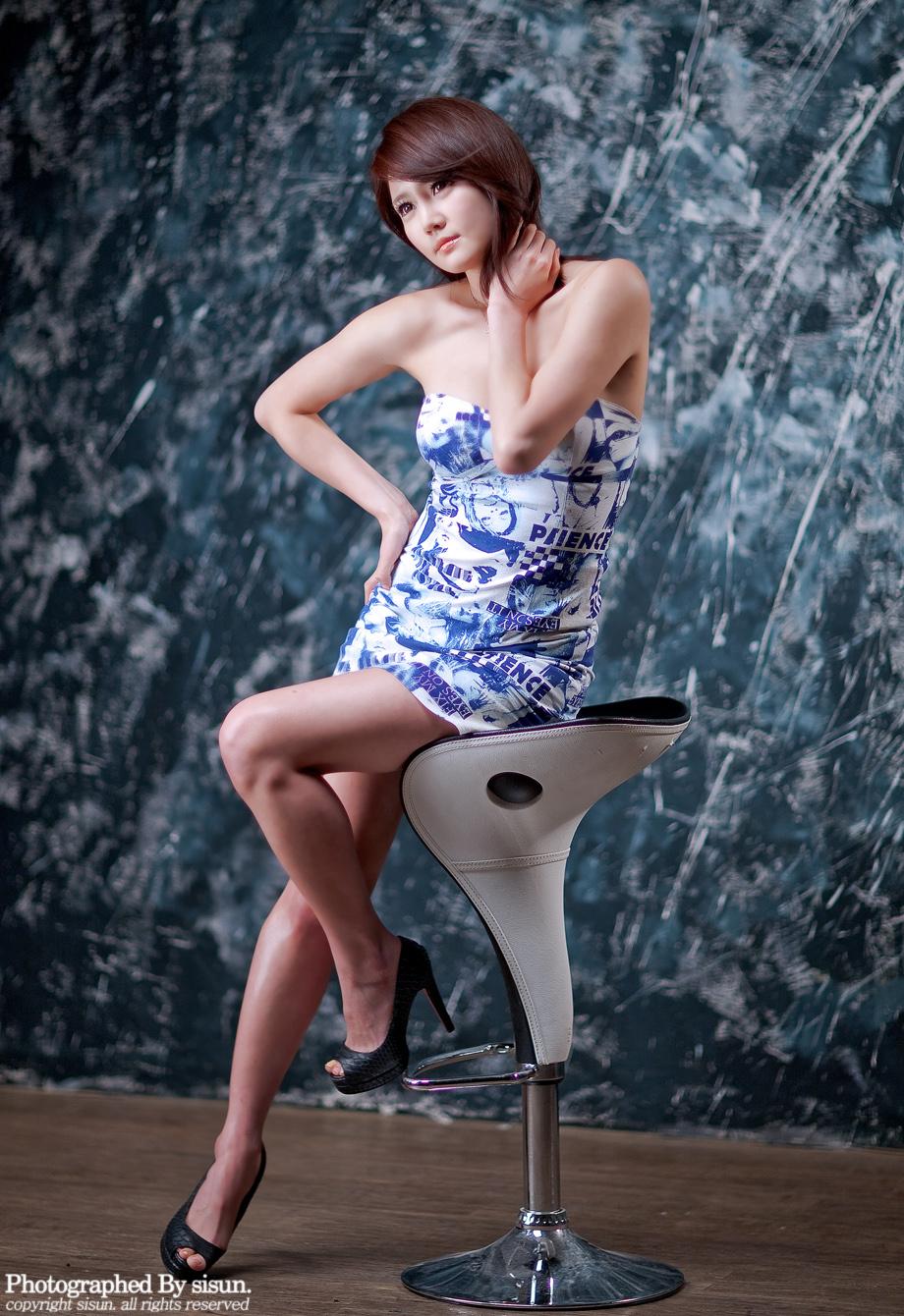 한가은 Han Ga Eun Picture Line Girl