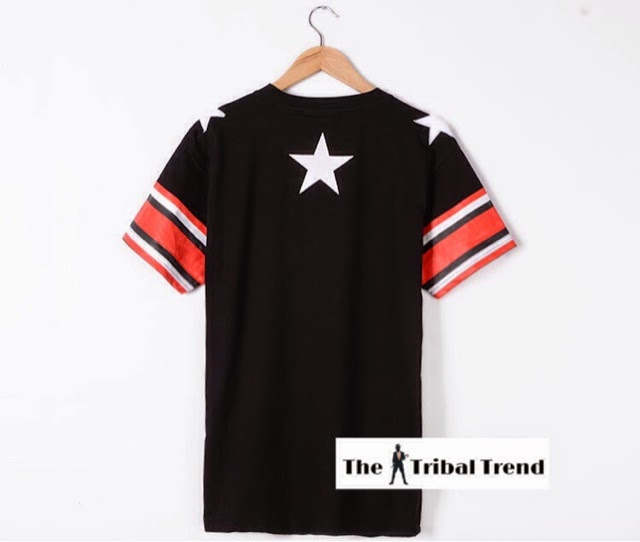 01258a88dc The Tribal Trend: Givenchy Star Pentagram Leather Stripe Short ...