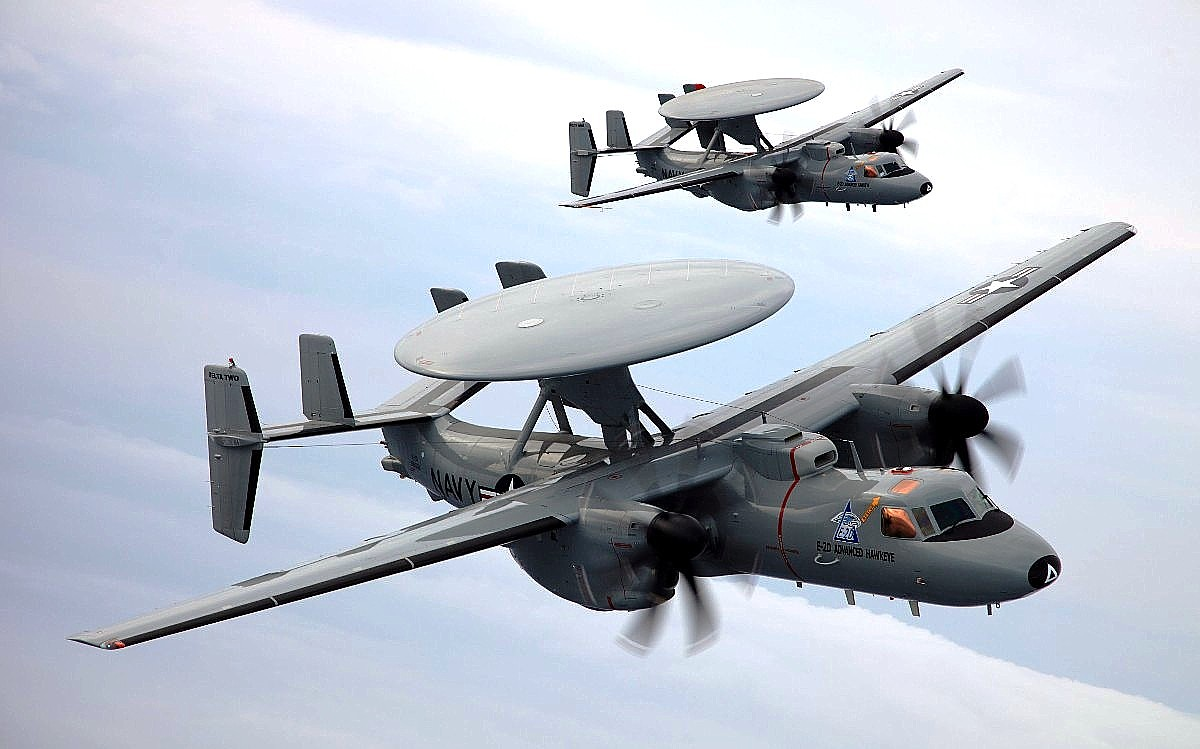 E-2 Hawkeye, Wallpaper Pesawat Terbang 1