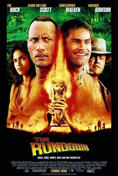 Poster Of The Rundown (2003) Full Movie Hindi Dubbed Free Download Watch Online At Alldownloads4u.Com