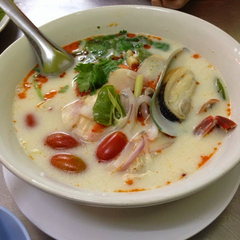 Tom Yam in Chatuchak Market