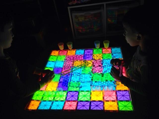 light table creative ideas