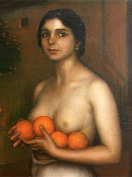 Imagen propiedad de Artencordoba-Arte, Cultura y Turismo en Córdoba.-Museo de Julio Romero de Torres: Naranjas y limones.