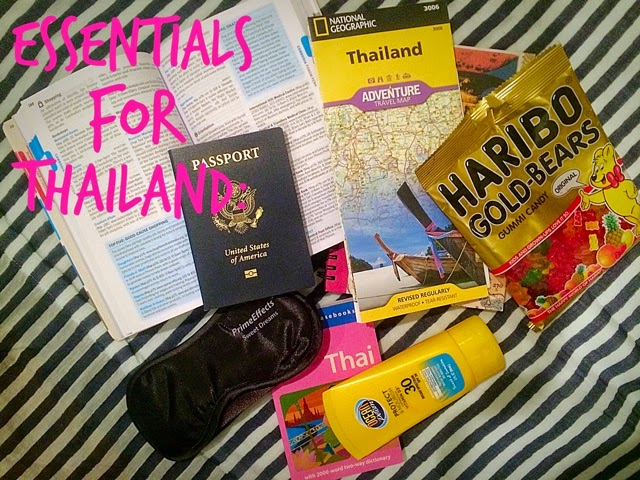 packing the essentials for a trip to Thailand and Vietnam