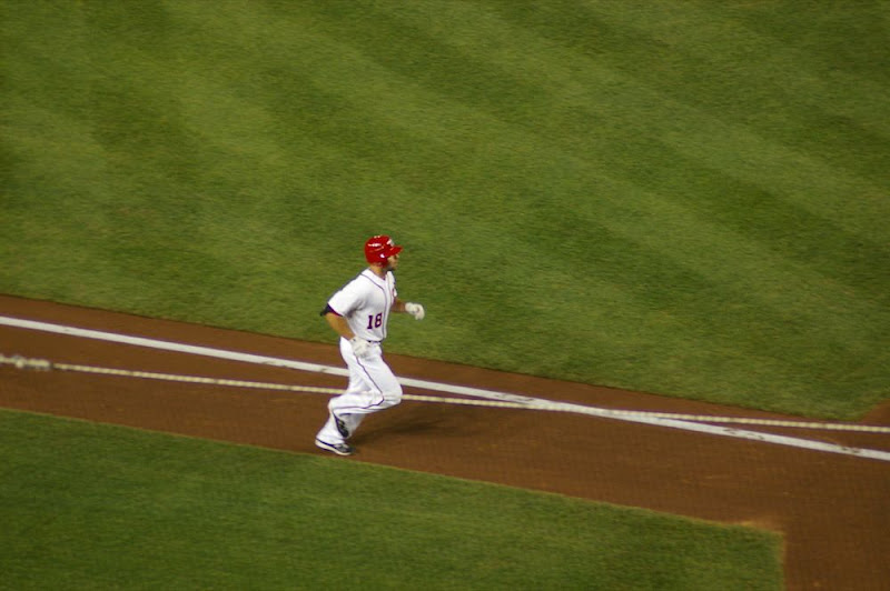 Danny on the basepath