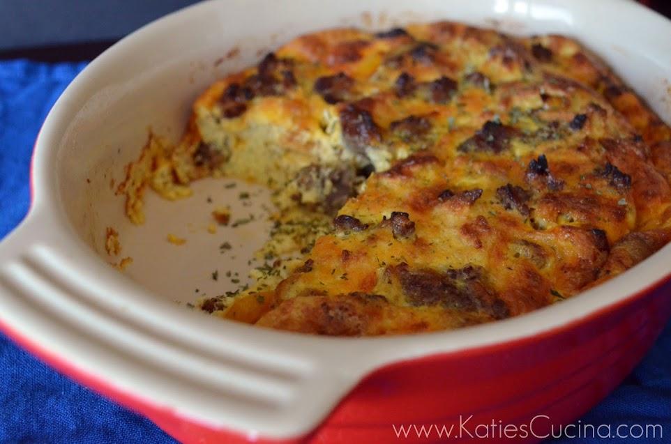 Sausage, Egg, & Veggie Casserole