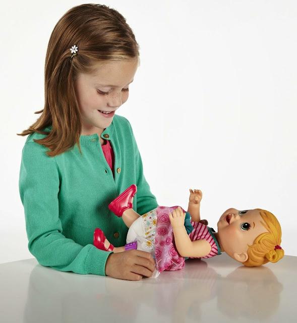 Búp bê Baby Alive Chăm sóc bé cưng - A5390 có thể làm ướt tã