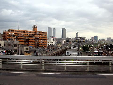 富士セービングバス「旅の散策」名古屋便 車窓