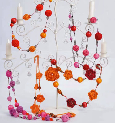 Collar De Flores Tejido A Crochet Como Hacer Un Collar Tejido A Crochet