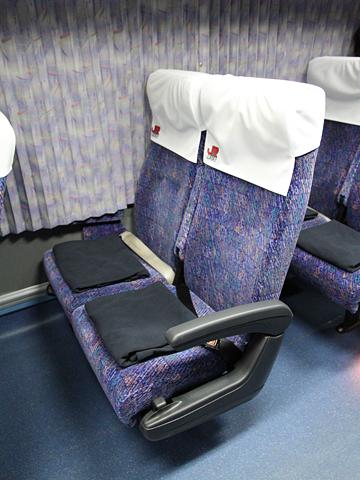 JR九州バス「広福ライナー」夜行便 748-06556 シート