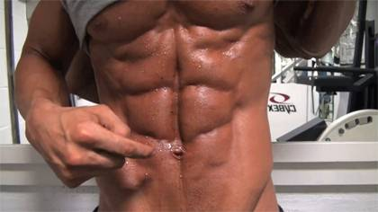 Work Out Inspiration - Ben Noy 'The Blueprint' Guy with 10-Pack Abs