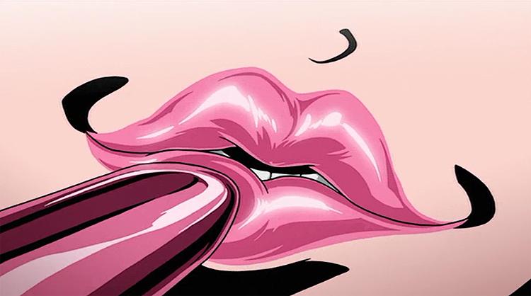 Redline lips lipstick plump magenta