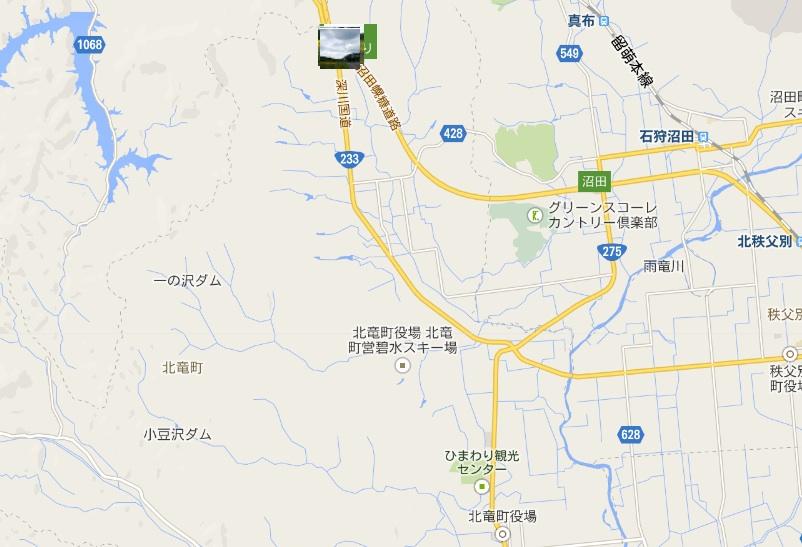 地図をクリックすると別画面で撮影ポイントが表示されます