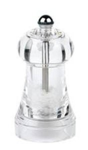 Peugeot Toul Clear Acrylic Salt Mill