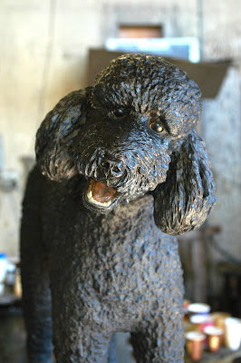 bronze dog patina process