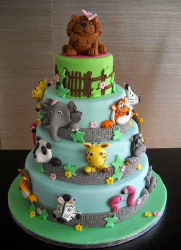 50 Best Zoo Birthday Cakes Ideas And Designs iBirthdayCake