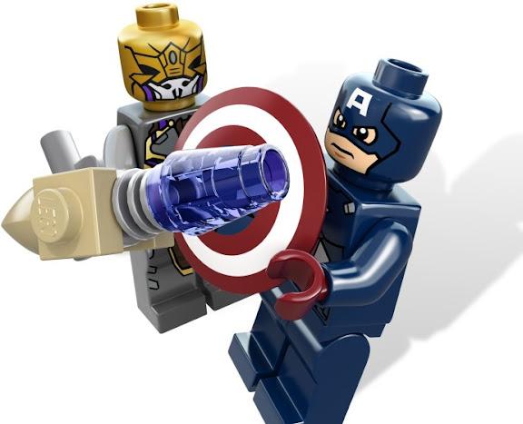 レゴ スーパー・ヒーローズ キャプテン・アメリカ アベンジングサイクル 6865