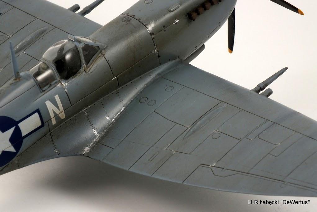 Malta/Sicily 1943; Spitfire Mk.IXc 2FS/52FG; Italeri 1/48 DSCF3814