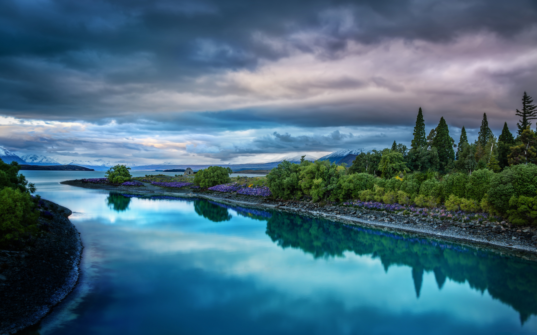 Lake Tekapo In New Zealand Wallpapers Hd Wallpapers
